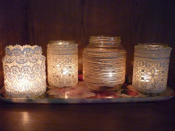 Prigušena svetlost sveća odličan je izbor!