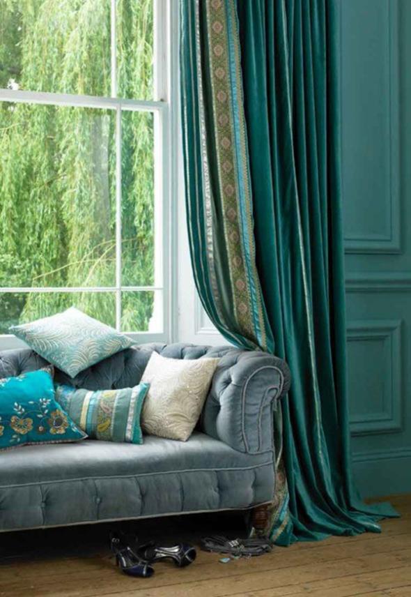 Zavesama, tepihu, prekrivačima i jastucima posebno pokloni pažnju